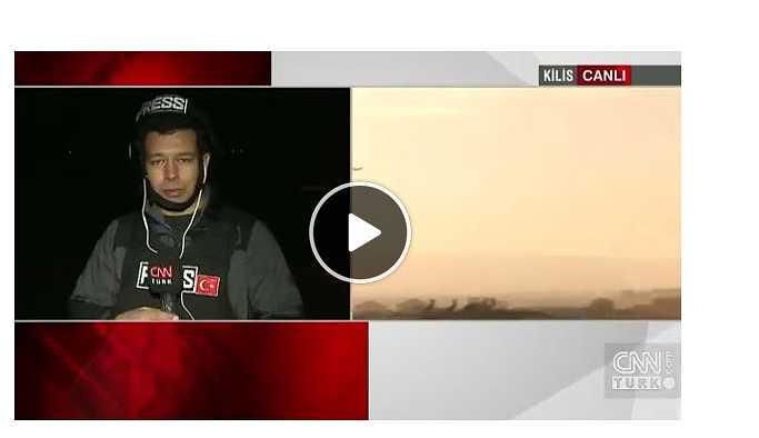 YPG Canlı yayında Hudut karakoluna saldırdı.