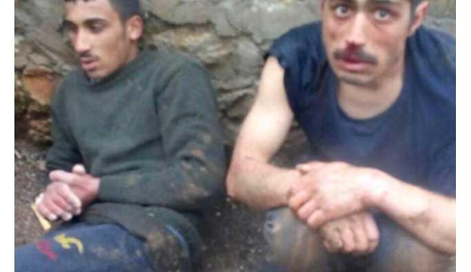 YPG'li Teröristler Böyle Yakalandı