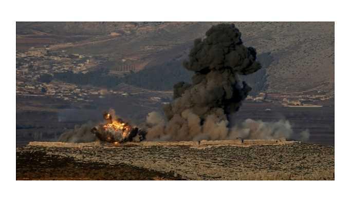 Afrin'de askerlere saldırı