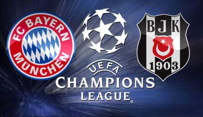 Bayern Münih Beşiktaş bu akşam saat kaçta hangi kanalda?