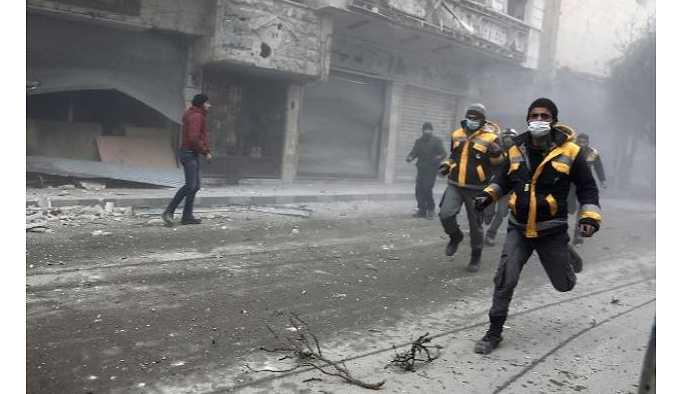 Doğu Guta'da pazar gününden bu yana 368 sivil hayatını kaybetti