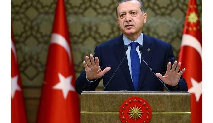 """Erdoğan: TTB'nin başındaki """"Türk"""" ifadesi süratle kaldırılmalıdır"""