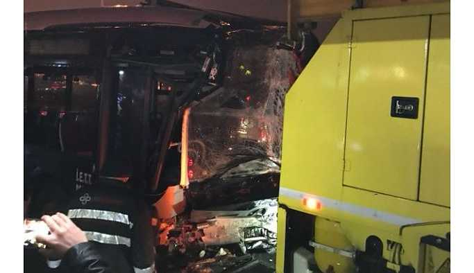İBB'den metrobüs kazası açıklaması