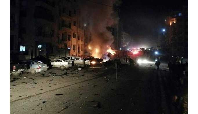İdlib'de bombalı saldırı: 9 ölü, 14 yaralı