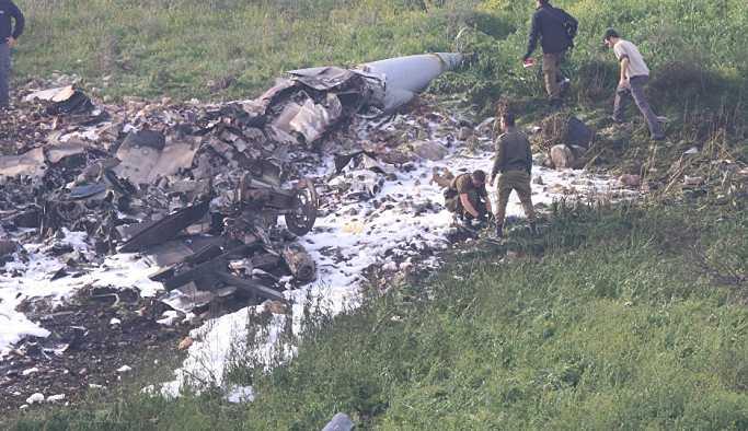 İsrail'den 'F-16' itirafı