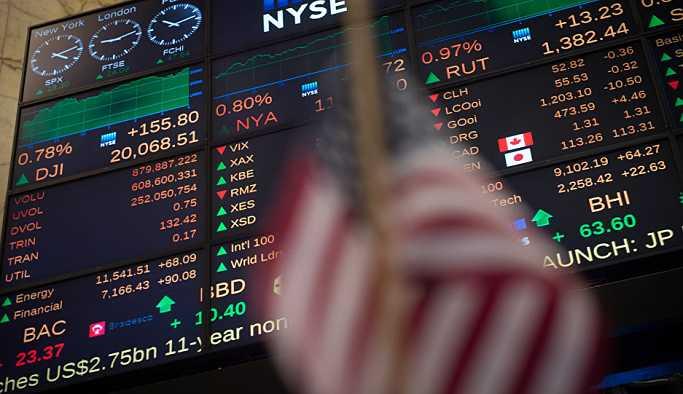 New York borsasından son iki yılın en sert düşüşü yaşandı