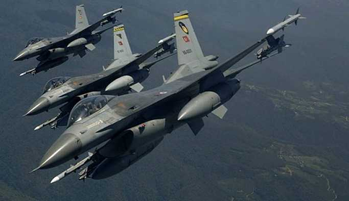 TSK: Kuzey Irak'taki hava harekatında 16 hedef vuruldu