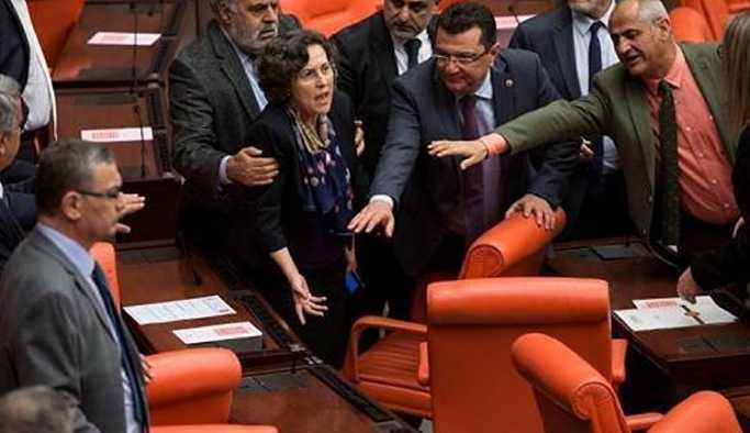 100'e yakın vekil HDP'li vekil üzerine yürüdü, kolu kırıldı
