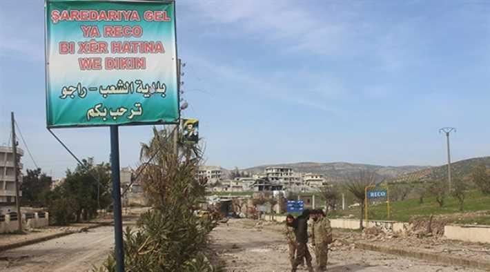 Afrin-Cinderes bağlantısı kesildi