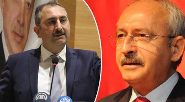 Bakan Gül'den Kılıçdaroğlu'nun HSK açıklamasına cevap