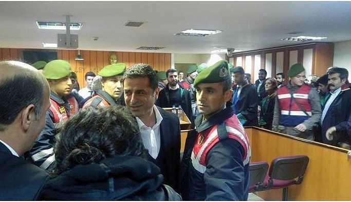 Demirtaş'tan mahkemeye: Heyetinizi reddediyorum