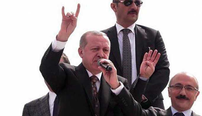 Erdoğan'dan 'bozkurt' işareti: Afrin'e girdik giriyoruz
