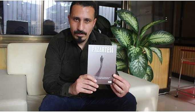 Gazeteci Abidin Yağmur'un ilk öykü kitabı 'Pazartesi' yayınladı