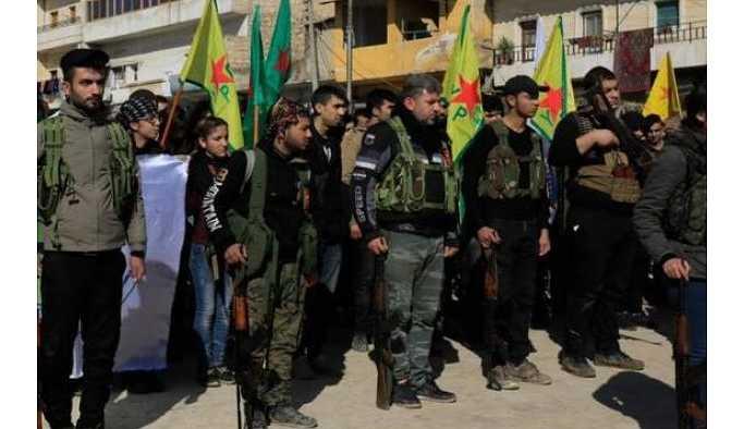 Guardian: Afrin'de kalan YPG'liler taktiğini açıkladı.