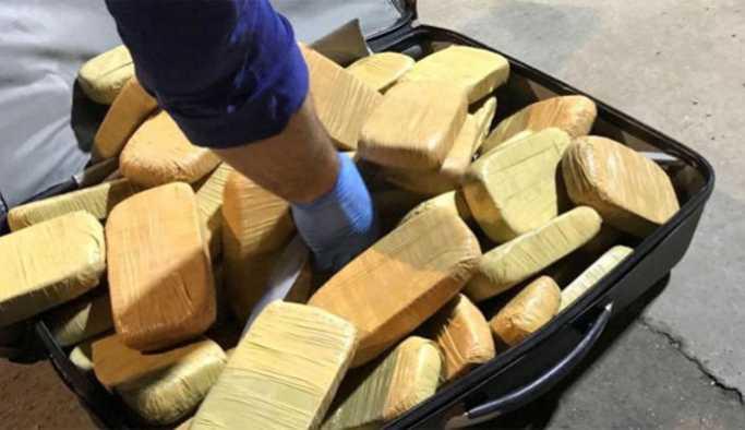 Habur'da 11 milyon TL değerinde eroin ele geçirildi