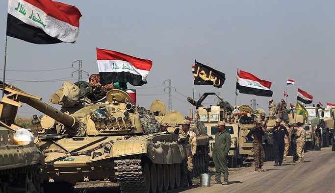 Irak ordusundan Rojava ve Güney Kürdistan sınırlarına büyük yığınak