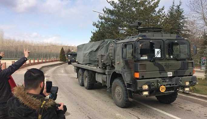 Karadeniz'e askeri sevkiyat