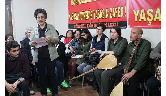 Ankara Valiliği, Yüksel Direnişi'nin 500 günü dolaysıyla verilecek konseri iptal etti