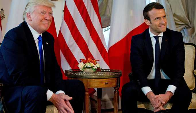 Beyaz Saray, Macron'u yalanladı: ABD'nin Suriye'deki misyonu değişmedi