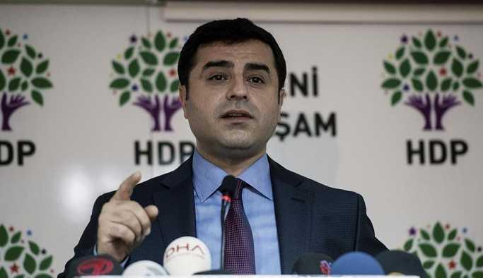 HDP'den 'Selahattin Demirtaş' açıklaması