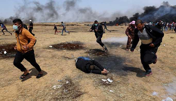 İsrail'in Filistinli eylemcilere karşı gerçek mermi kullanması ilk kez yargıda