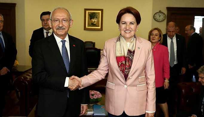 Kılıçdaroğlu ile görüşen Akşener: Adaylığım sürüyor