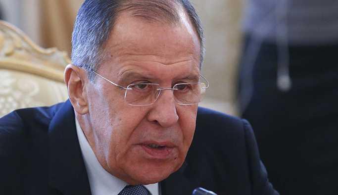 Lavrov: Suriye saldırısı yasadışı ve kabul edilemez