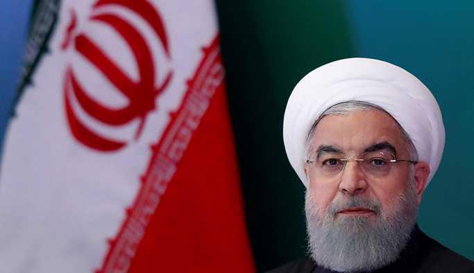 Ruhani'den nükleer anlaşmanın yenilenmesini isteyen ABD'ye: Tüccar Trump