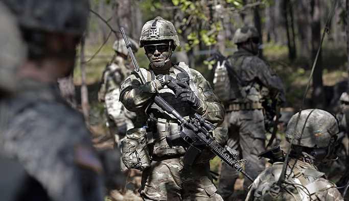 'ABD, muhtemel bir çarpışmaya hazırlık için Avrupa'ya silah verecek'