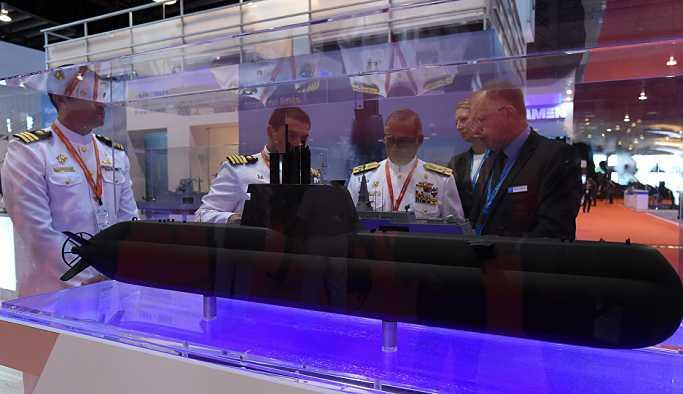 Almanya'dan Türkiye'ye denizaltı teslimatı
