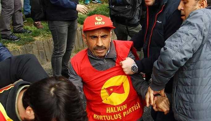 Beşiktaş'ta polis müdahalesi: 20 gözaltı