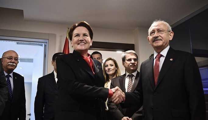 'CHP, İYİ Parti, Saadet Partisi ve Demokrat Parti ittifakta anlaştı'