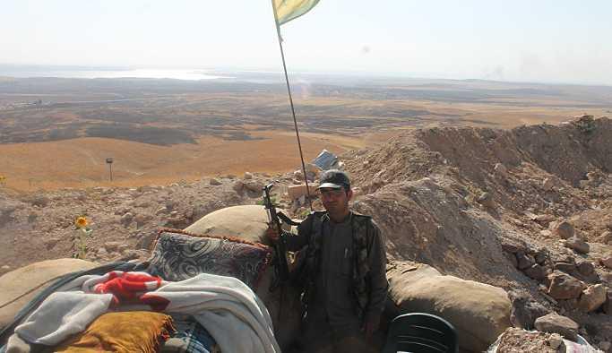 DSG Komutanı: IŞİD'i Suriye Irak sınırından temizlemek üzereyiz