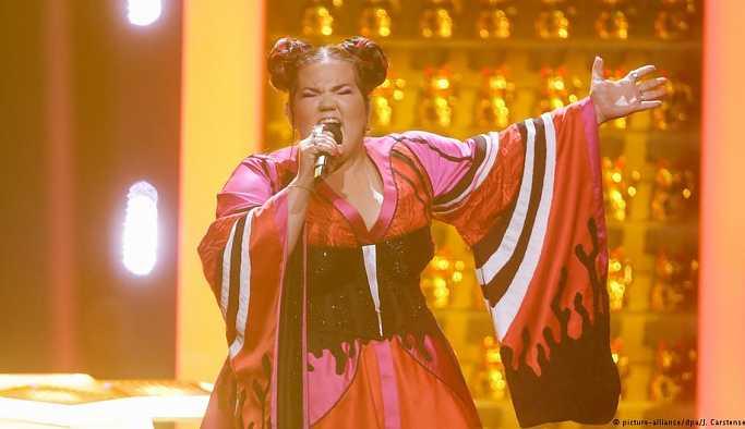 Eurovision'da zafer İsrail'in