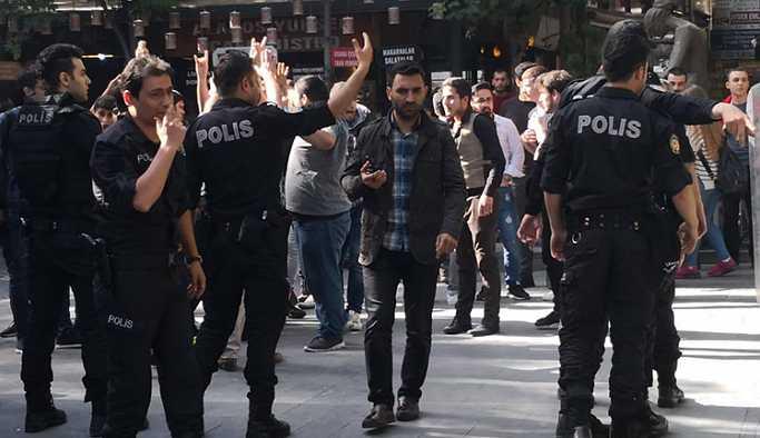 HDP'nin seçim standına ırkçı saldırı