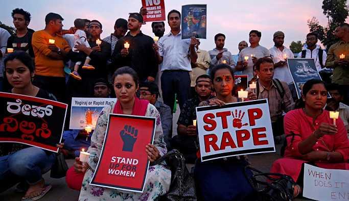Hindistan'da 16 yaşında kızı tecavüz edip diri diri yaktılar