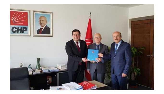 İbrahim Kaboğlu CHP'den aday adayı oldu