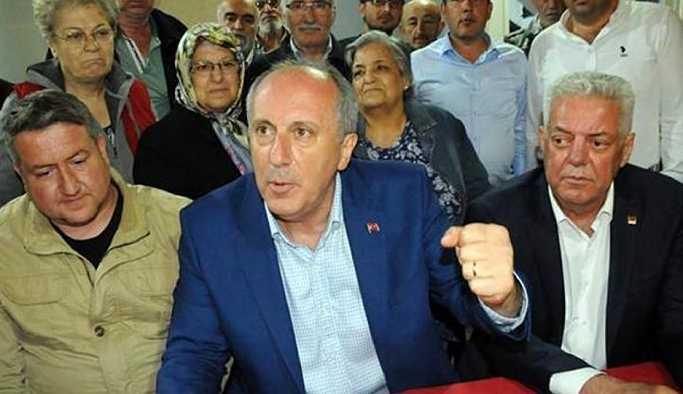 İnce'den Erdoğan'a: Gariban olmak, şaibeli para sahibi olmaktan iyidir