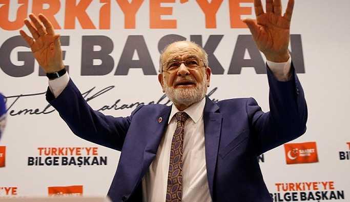 Karamollaoğlu 100 bin imzayı geçti: 'Hedef sadece İstanbul'dan 200 bin'