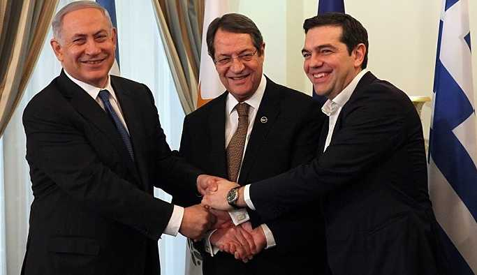 Kıbrıs'ta üçlü doğalgaz zirvesi