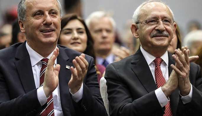 Kılıçdaroğlu'ndan İnce'ye seçim bağışı
