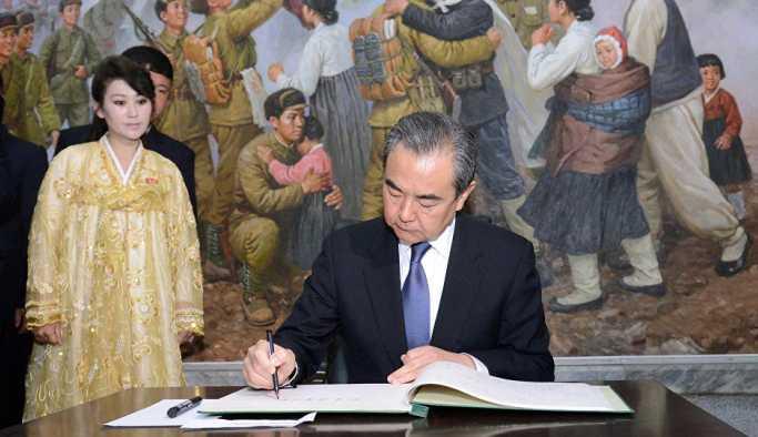 Kim'den Çin Dışişleri Bakanı Wang'e: Kore Yarımadası'nın nükleer silahlardan arındırılması değişmez pozisyonumuz