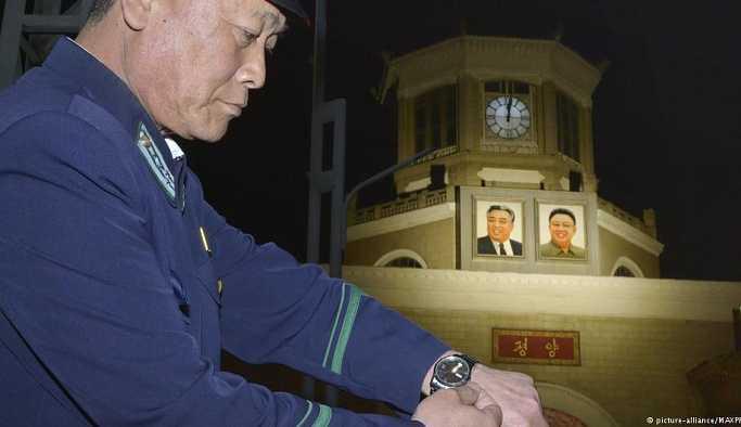 Kuzey Kore Güney Kore ile saatleri eşitledi