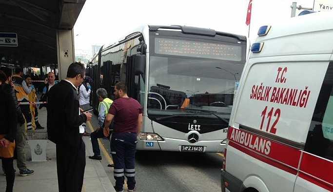 Metrobüs, Suriyeli çocuğu ezdi