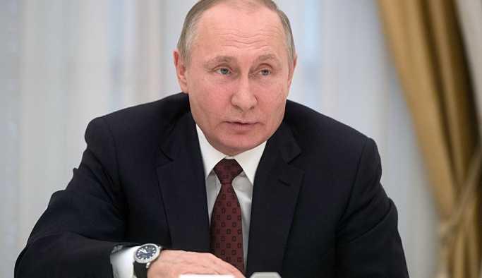 Rusya Devlet Başkanı Putin, dördüncü dönemi için yemin ediyor