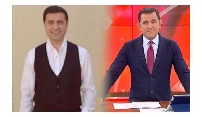 Selahattin Demirtaş'tan Fatih Portakal'a yanıt