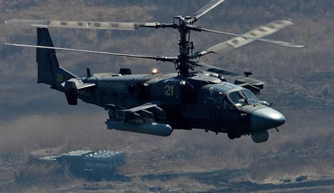 Suriye'de Rus savaş helikopteri düştü: Her iki pilot da yaşamını yitirdi
