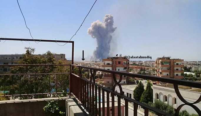 Suriye'nin Hama kentinde patlama