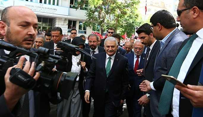 Yıldırım ve Bahçeli, YSK'ya Erdoğan için ortak başvuru yaptı