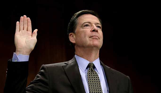 ABD Adalet Bakanlığı, eski FBI direktörü Comey'i kusurlu buldu